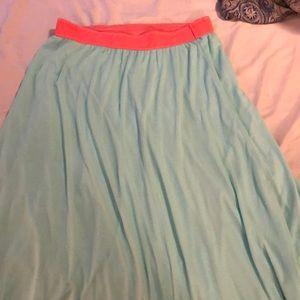 XL lularoe Lucy skirt